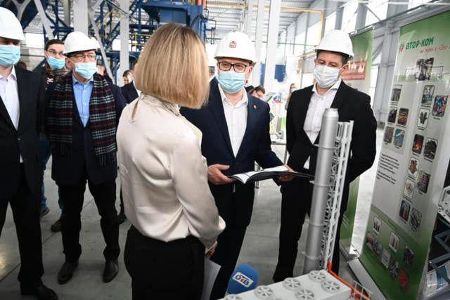 Возможности индустриального парка в Челябинской области оценил Алексей Текслер