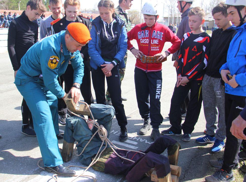 d6917d10 В Красноармейском районе детей готовят к чрезвычайным ситуациям
