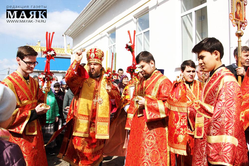 Прихожане и священники отметили престольный праздник в храме Красноармейского района