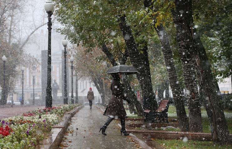 Насевере Свердловской области выпал 1-ый снег