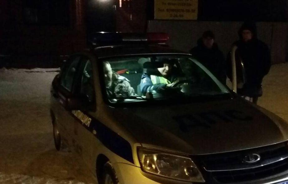 Организовали «коридор»: вСызрани работники  ГИБДД проводят массовую проверку водителей натрезвость